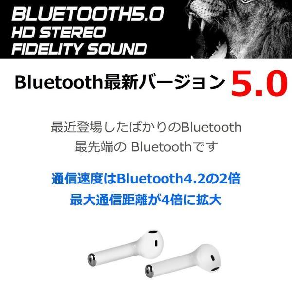 Bluetooth5.0 ワイヤレス イヤホン Bluetooth イヤホン bluetooth イヤホン ブルートゥース イヤホン iphone イヤホン iphone Android 対応|lazo-office|03