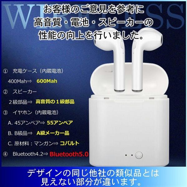 Bluetooth5.0 ワイヤレス イヤホン Bluetooth イヤホン bluetooth イヤホン ブルートゥース イヤホン iphone イヤホン iphone Android 対応|lazo-office|06