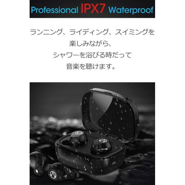 Bluetooth5.0  ワイヤレス イヤホン Bluetooth イヤホン bluetooth イヤホン ブルートゥース イヤホン iphone8 イヤホン iphone Android 対応 マイク|lazo-office|12