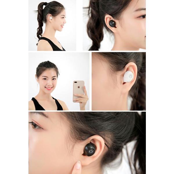 Bluetooth5.0  ワイヤレス イヤホン Bluetooth イヤホン bluetooth イヤホン ブルートゥース イヤホン iphone8 イヤホン iphone Android 対応 マイク|lazo-office|15