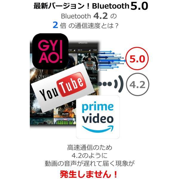 Bluetooth5.0  ワイヤレス イヤホン Bluetooth イヤホン bluetooth イヤホン ブルートゥース イヤホン iphone8 イヤホン iphone Android 対応 マイク|lazo-office|08