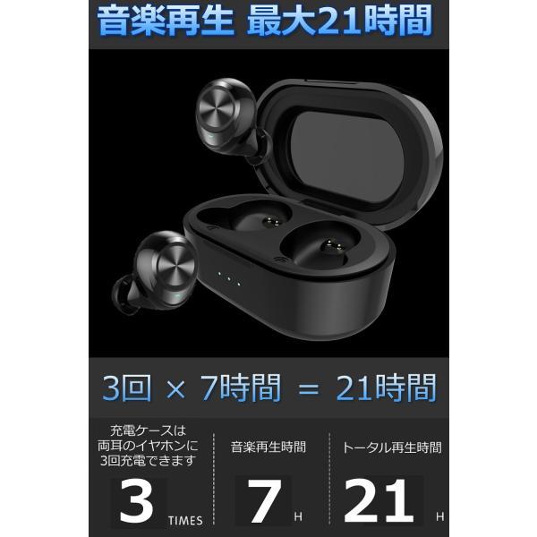 ワイヤレス イヤホン Bluetooth イヤホン bluetooth イヤホン ブルートゥース イヤホン iphone イヤホン iphone Android 対応 マイク|lazo-office|11