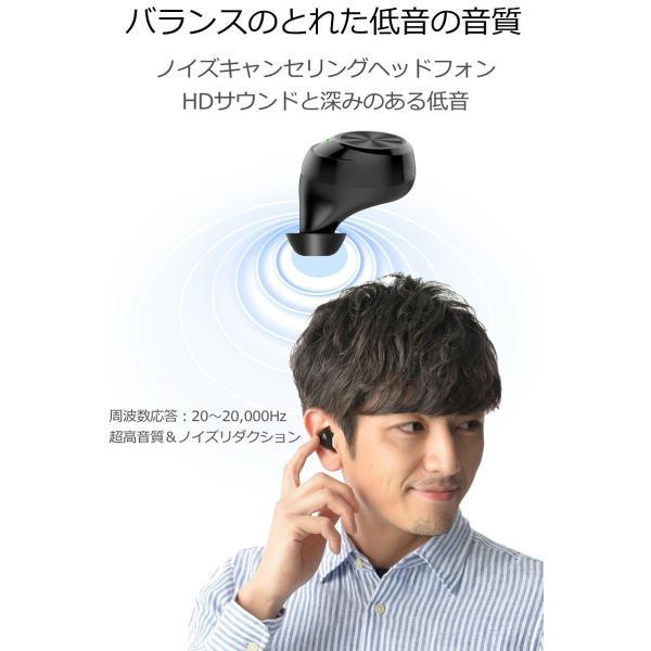 ワイヤレス イヤホン Bluetooth イヤホン bluetooth イヤホン ブルートゥース イヤホン iphone イヤホン iphone Android 対応 マイク|lazo-office|15
