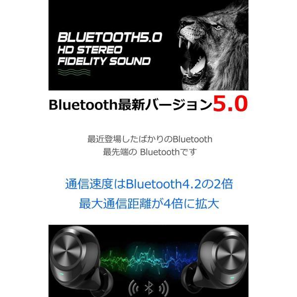 ワイヤレス イヤホン Bluetooth イヤホン bluetooth イヤホン ブルートゥース イヤホン iphone イヤホン iphone Android 対応 マイク|lazo-office|07