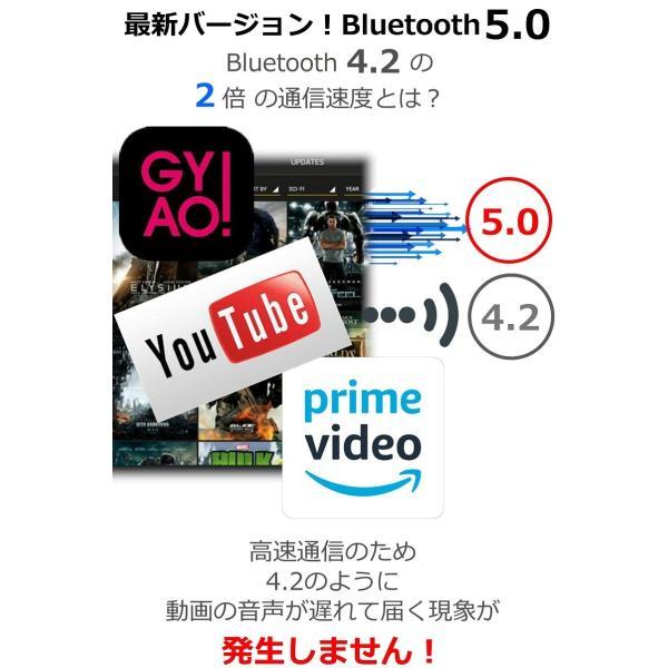 ワイヤレス イヤホン Bluetooth イヤホン bluetooth イヤホン ブルートゥース イヤホン iphone イヤホン iphone Android 対応 マイク|lazo-office|08