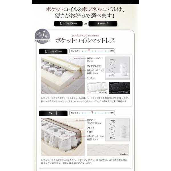 ベッド ダブル コンセント付き デザインベッド Cordova コルドヴァ マルチラススーパースプリングマットレス付き ダブルサイズ|lbazal|13