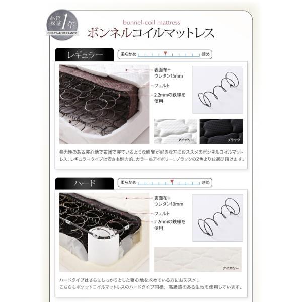 ベッド ダブル コンセント付き デザインベッド Cordova コルドヴァ マルチラススーパースプリングマットレス付き ダブルサイズ|lbazal|15