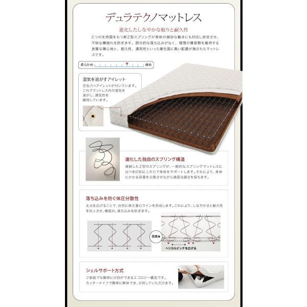ベッド ダブル コンセント付き デザインベッド Cordova コルドヴァ マルチラススーパースプリングマットレス付き ダブルサイズ|lbazal|20