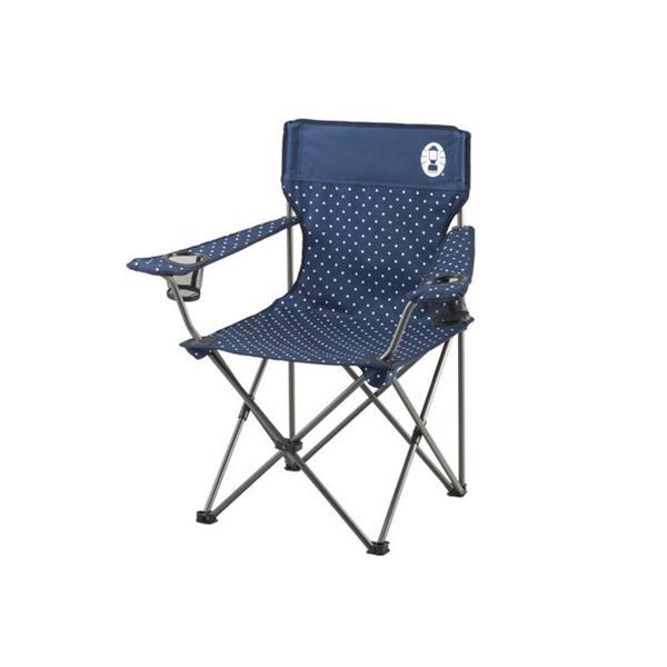 コールマン(Coleman) リゾートチェア ネイビードット 2000026736 折りたたみ椅子 キャンプ (Men's、Lady's)