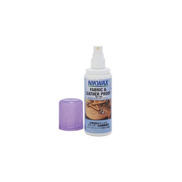 ニクワックス(NIKWAX) NIKWAX ニクワックス ファブリック レザースプレー 125ml 革と合成繊維のコンビ素材専用 撥水剤 EBE792 (メンズ、レディース)