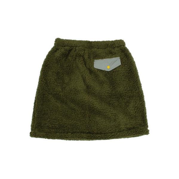 チャムス(CHUMS) フリースエルモスカート CH18-1080 Khaki (Lady's)|lbreath|02