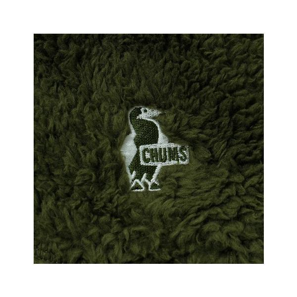 チャムス(CHUMS) フリースエルモスカート CH18-1080 Khaki (Lady's)|lbreath|05