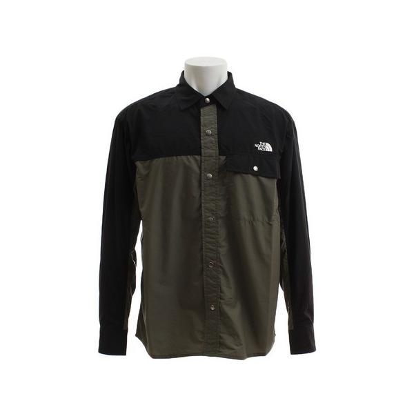 ノースフェイス(THE NORTH FACE) ロングスリーブヌプシシャツ NR11961 NL (Men's、Lady's)