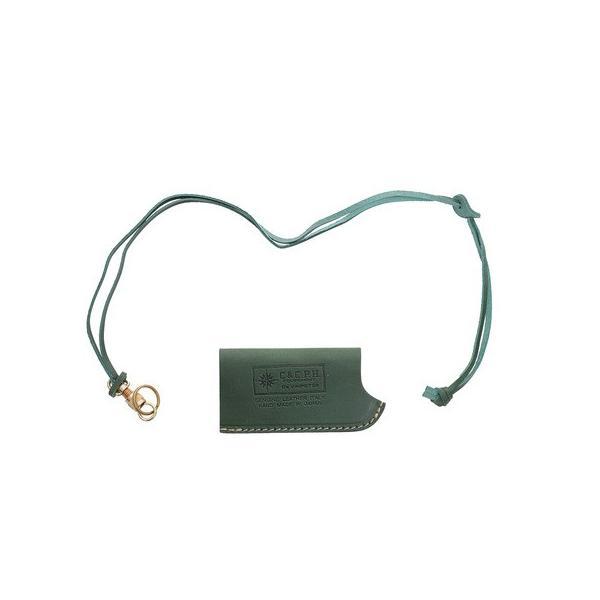シーアンドシー.ピー.エイチ(C&C.P.H) SOTO ガスライター CASE CPH16046 GREEN (メンズ、レディース)
