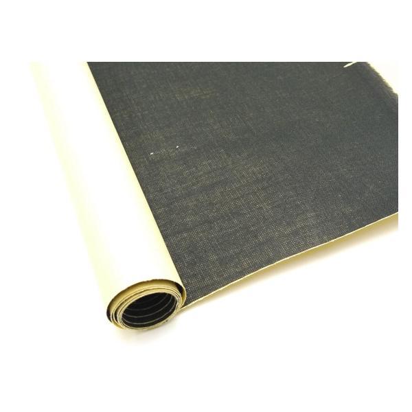【切り売り】布ワッペン 黒 33×90cm 0.3mm厚 1巻[ぱれっと]  レザークラフト副資材 その他