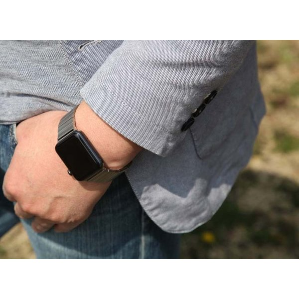 アップルウオッチ パーツ付きスマート腕時計バンド ステンレス鋼Apple WatchSeriesSE Series6 Series5/4/3/2 リンクブレスレット40/38mm 44/42mmステンレスB18|lcsime-shop|02