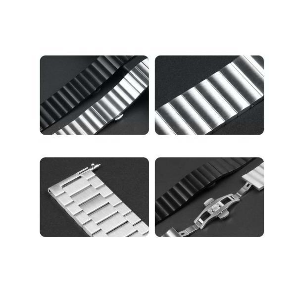 アップルウオッチ パーツ付きスマート腕時計バンド ステンレス鋼Apple WatchSeriesSE Series6 Series5/4/3/2 リンクブレスレット40/38mm 44/42mmステンレスB18|lcsime-shop|11