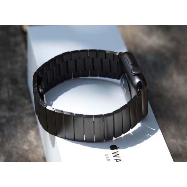 アップルウオッチ パーツ付きスマート腕時計バンド ステンレス鋼 ベルト Apple Watch リンクブレスレット40/38mm 44/42mmステンレスベルトB18|lcsime-shop|06