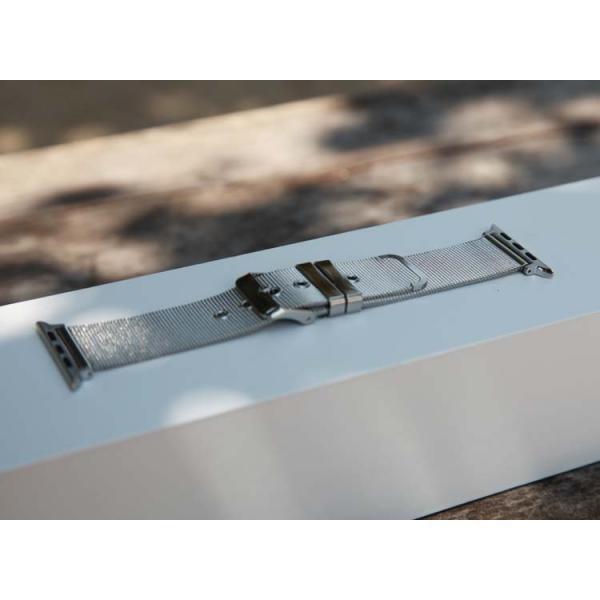 アップルウオッチ パーツ付き ステンレス鋼  ミラネーゼ メッシュ   40/38mm  44/42mm Apple WatchSeriesSE Series6 Series5/4/3/2 交換 ベルト  B22|lcsime-shop|12