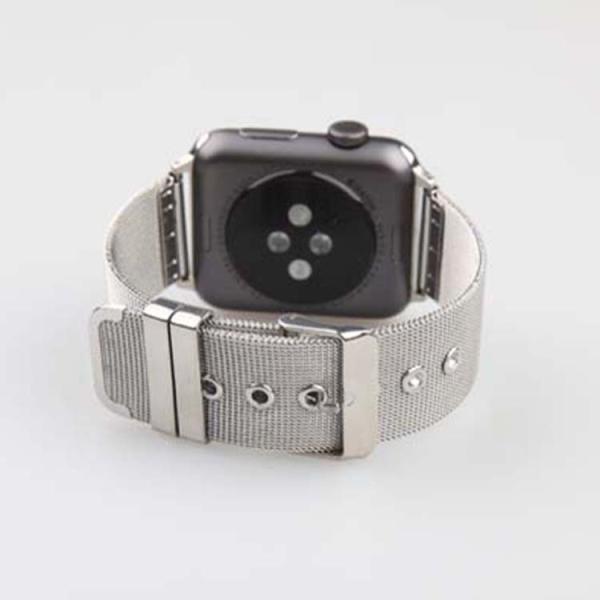 アップルウオッチ パーツ付き ステンレス鋼  ミラネーゼ メッシュ   40/38mm  44/42mm Apple WatchSeriesSE Series6 Series5/4/3/2 交換 ベルト  B22|lcsime-shop|03