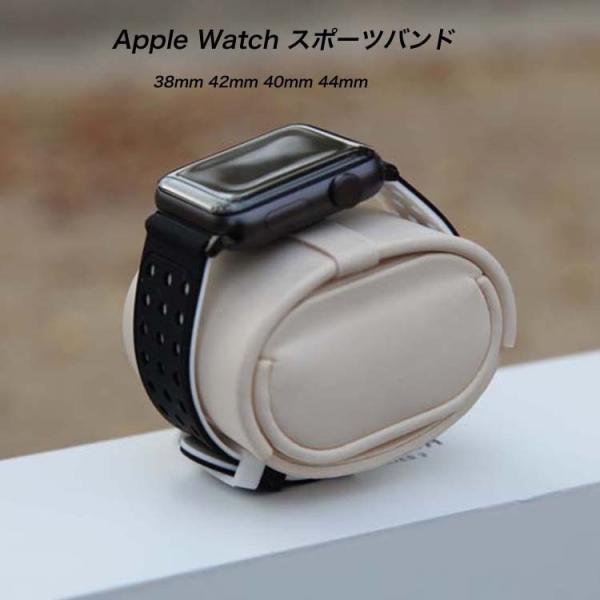 アップルウオッチ パーツ付き スマート腕時計ンバド シリコン ラバー 22mm 24mm 腕時計ベルト  替えベルト 交換 スポース   Apple Watch Series 4/3/2/1 b27|lcsime-shop|15