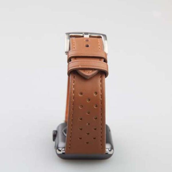 アップルウオッチ パーツ付き スマート腕時計ンバド シリコン ラバー 22mm 24mm 腕時計ベルト  替えベルト交換 本革バンド Apple Watch Series 4/3/2/1
