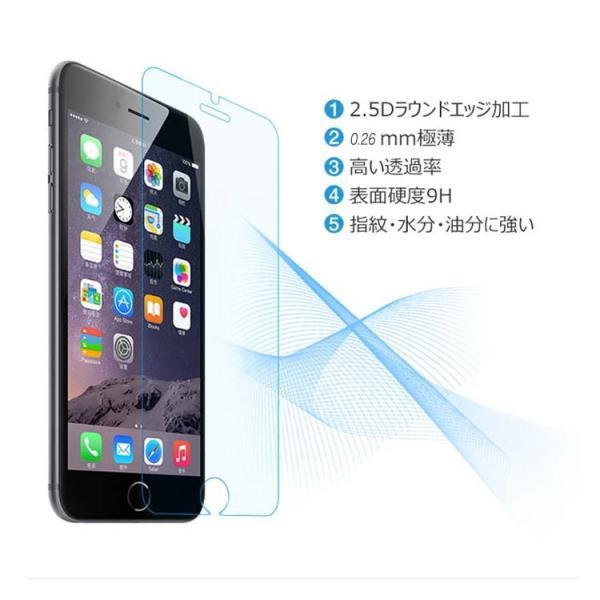 「ブルーライトカット」iphone7/iphone7plusiPhone6s Plus iPhone6 iPhone5 iPhone5s アイフォン6s 強化 ガラスフィルム 保護フィルム 硬度9H 指紋防止〜|lcsime-shop|06