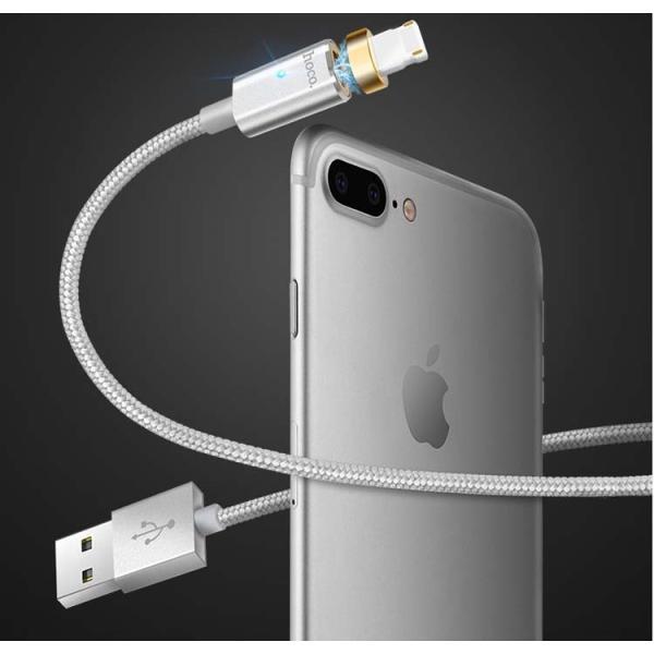 Apple Lightning USB ケーブルiPhoneX iPhone8/8Plus/7/7plus/6 plus/SE/5S iPad 対応  防塵機能磁気吸収 保証付き 正規ライセンス 着脱式 磁石 LEDライト coco. lcsime-shop 04