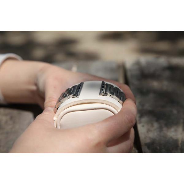 アップルウォッチバンド Apple Watch42mm/38mm/40mm/44mm &hoco. メッキ加工弧状設計ケースセットApple Watch Series 5/4/3/2/ 1 長さ調節器具付き! SET lcsime-shop 15
