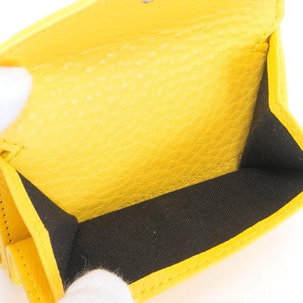 バレンシアガ 財布 三つ折り財布 ミニ財布 レディース ペーパー ミニウォレット BALENCIAGA 391446 DLQ0N 7155 薄型 薄い 名入れ le-premier 04