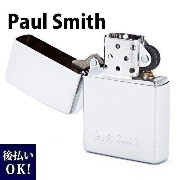 ポールスミス ジッポ ZIPPO ジッポー ライター オイルライター メンズ ロゴ シルバー 553-767-800 プレゼント