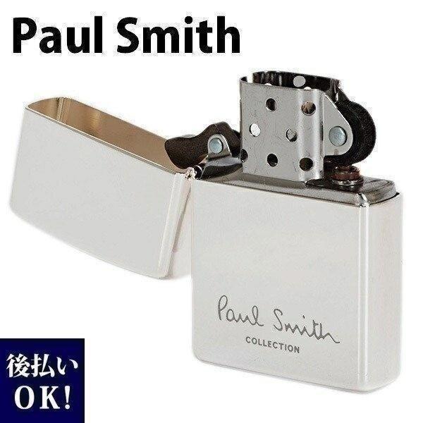 ポールスミス ライター ジッポ ZIPPO ジッポー ライター オイルライター ロゴ シルバー 554-819-800