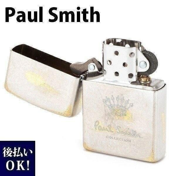 ポールスミス ジッポ ZIPPO ジッポー ライター オイルライター クラウン&ロゴマーク アンティークシルバー 554-827-800