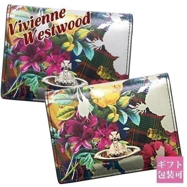 ヴィヴィアンウエストウッド パスケース 定期入れ レディース 花柄【Vivienne Westwood カードケース ブランド 新品 正規品 セール】