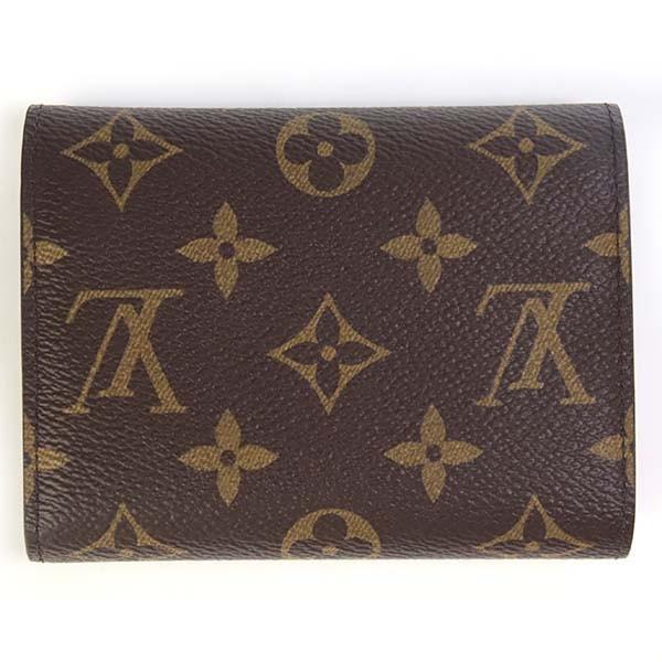 ルイヴィトン 財布 三つ折り財布 コンパクトポルトフォイユ・ヴィクトリーヌ モノグラム・ローズ・バレリーヌ M62360 le-premier 02