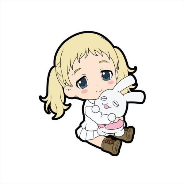 【コニー】 約束のネバーランド ぺたん娘 トレーディングラバーストラップ