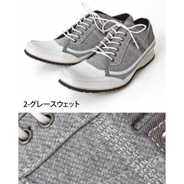 スニーカー メンズ 靴 レースアップ ローカットスニーカー メンズベルト メンズファッション 通販 leadmen 05