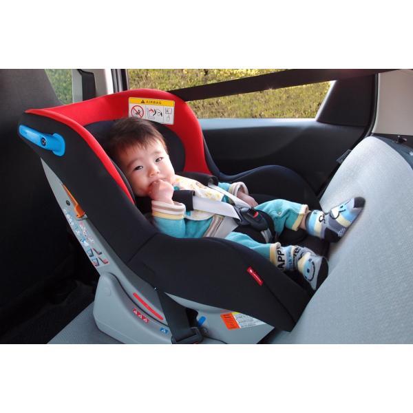 メーカー直販 チャイルドシート 新生児 0-4歳頃 日本製 リーマン ネディ Life|leaman|04