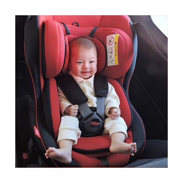 チャイルドシート 新生児-4歳頃 クッションふかふかモデル リーマン レスティロ|leaman|03
