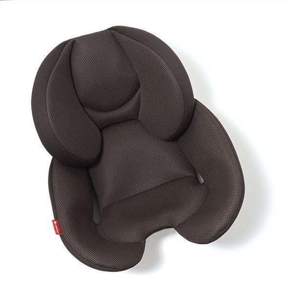 チャイルドシート オールメッシュカバー 新生児対応 0-4歳頃 リーマン パミオウーノエブリィ(ブラウン/ネイビー) 日本製|leaman|05