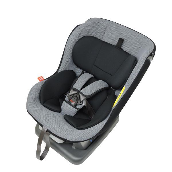 チャイルドシート 新生児対応 0-4歳 リーマン ネディアッププラス グレー 日本製 メッシュカバータイプ|leaman|10