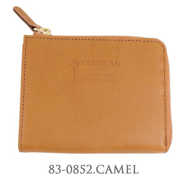 ( クーポン利用不可 )  CLEDRAN クレドラン MARCHE レザーウォレット L字ファスナー 財布 ミニ財布 コンパクト シンプル  CL1462  レディース|leap-town|06