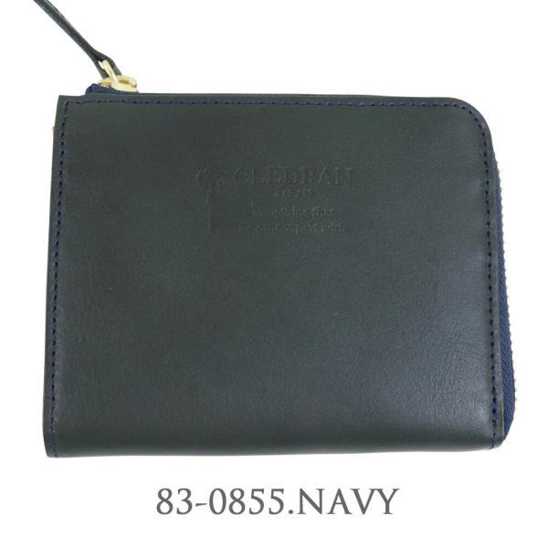 ( クーポン利用不可 )  CLEDRAN クレドラン MARCHE レザーウォレット L字ファスナー 財布 ミニ財布 コンパクト シンプル  CL1462  レディース|leap-town|09
