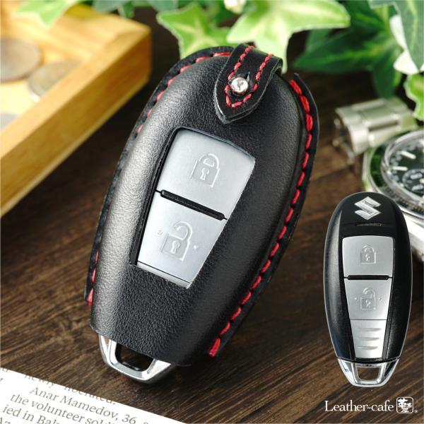 【オーダー】スズキ 革 SX4 イグニス エスクード スマートキーケース  スマートキーカバー 窓付き|leathercafe-y