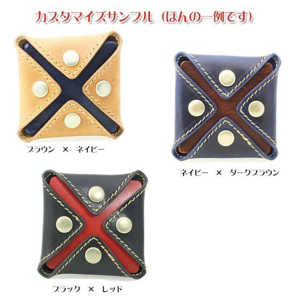 小銭入れ メンズ レディース コインケース 本革 名入れ 日本製 工房直送|leathercraft-ezoya|07