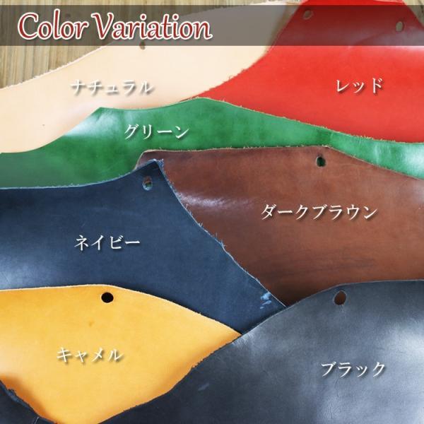 栃木レザー 財布 二つ折り ミドルウォレット 本革 名入れ 日本製 工房直送 leathercraft-ezoya 13