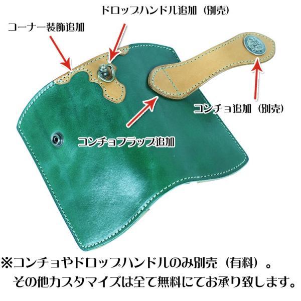 栃木レザー 財布 二つ折り ミドルウォレット 本革 名入れ 日本製 工房直送 leathercraft-ezoya 09