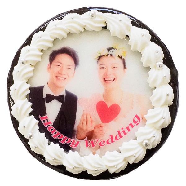 ザッハトルテ デコレーション 写真ケーキ 4号12cm|lecadeaukotobuki|04