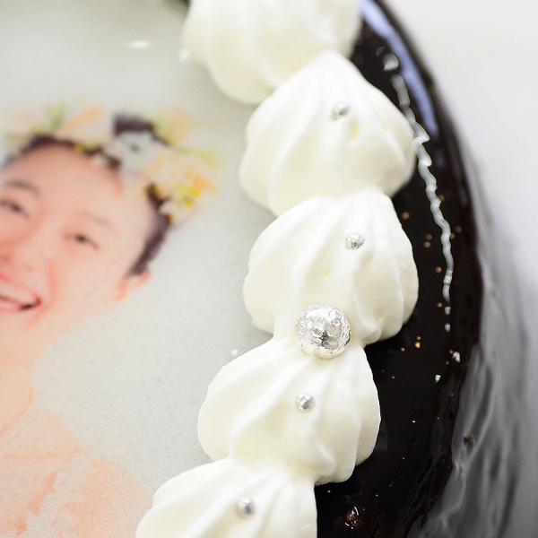 ザッハトルテ デコレーション 写真ケーキ 4号12cm|lecadeaukotobuki|05