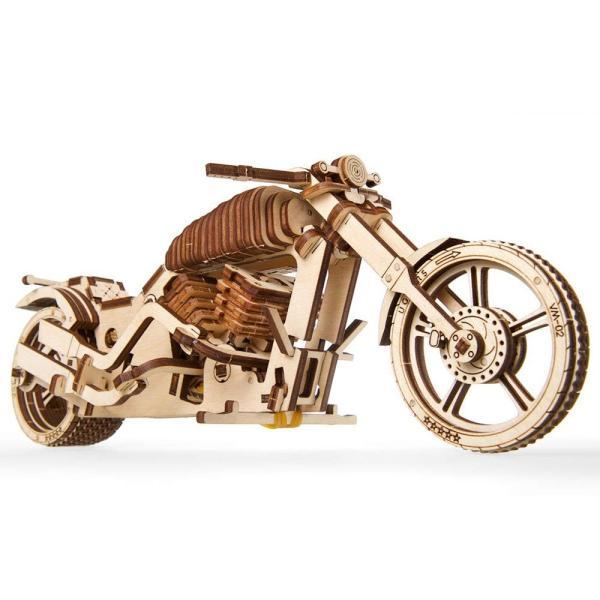 Ugears Bike VM-02 バイクVM-02 ;70051 木のおもちゃ 3D立体 パズル lechantilly